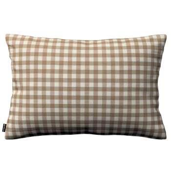Kinga dekoratyvinės pagalvėlės užvalkalas 60x40cm 60 × 40 cm kolekcijoje Quadro, audinys: 136-06