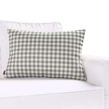 Poszewka Kinga na poduszkę prostokątną 60 x 40 cm w kolekcji Quadro, tkanina: 136-11