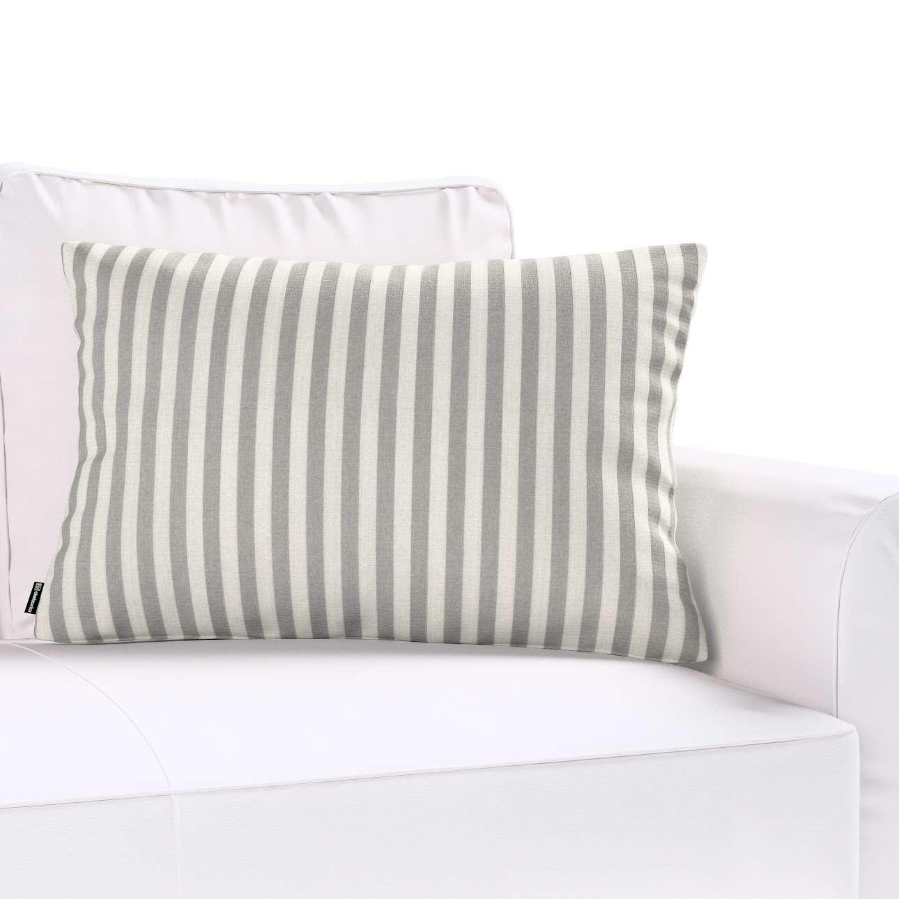 Poszewka Kinga na poduszkę prostokątną w kolekcji Quadro, tkanina: 136-12
