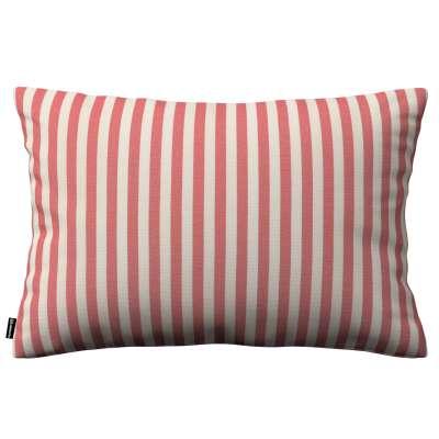 Karin - jednoduchá obliečka, 60x40cm 136-17 červeno-biele prúžky Kolekcia Quadro