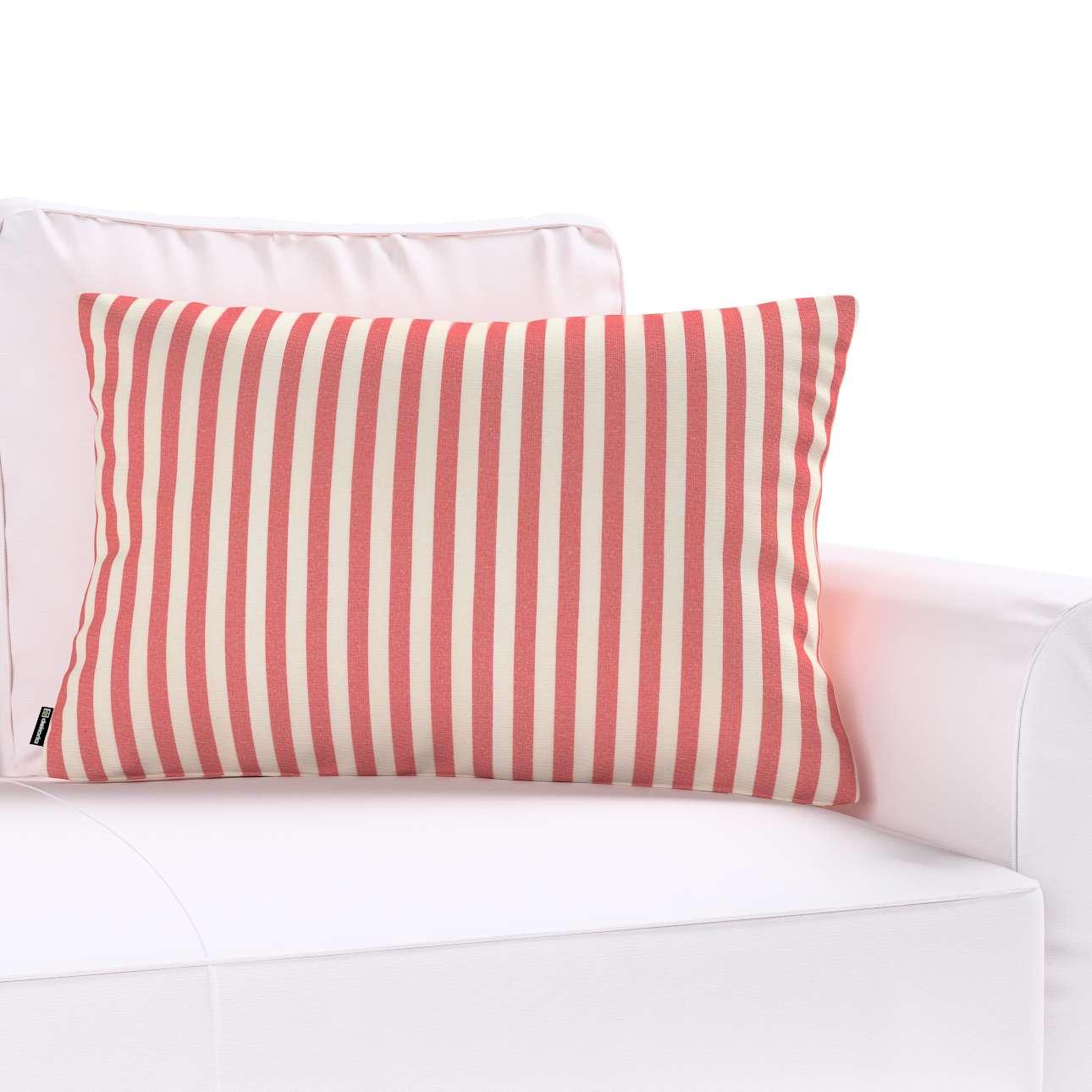 Poszewka Kinga na poduszkę prostokątną 60 x 40 cm w kolekcji Quadro, tkanina: 136-17