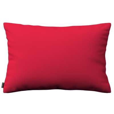 Poszewka Kinga na poduszkę prostokątną 136-19 czerwony Kolekcja Quadro