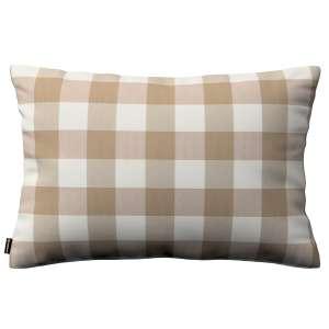 Poszewka Kinga na poduszkę prostokątną 60 x 40 cm w kolekcji Quadro, tkanina: 136-08