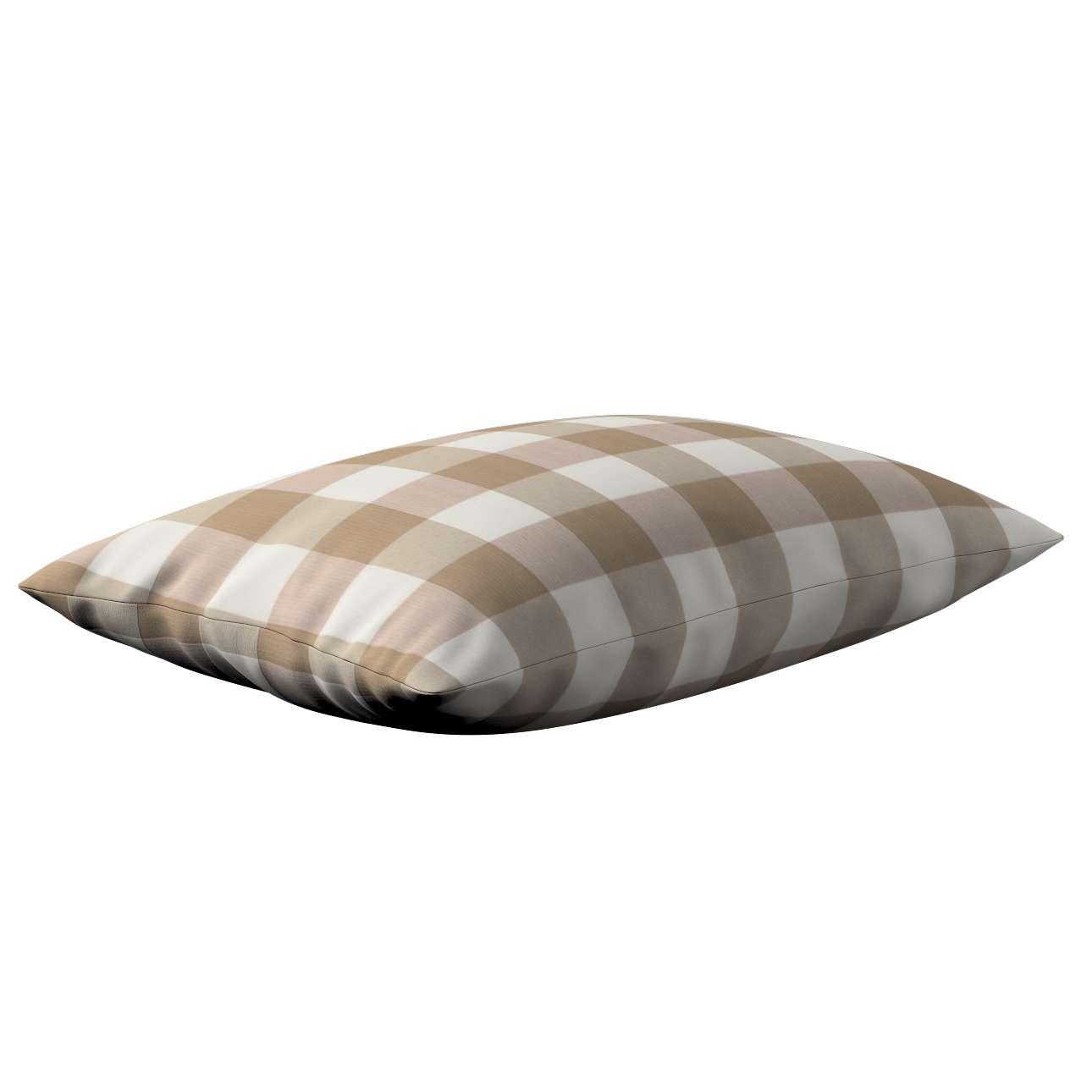 Kinga dekoratyvinės pagalvėlės užvalkalas 60x40cm 60x40cm kolekcijoje Quadro, audinys: 136-08