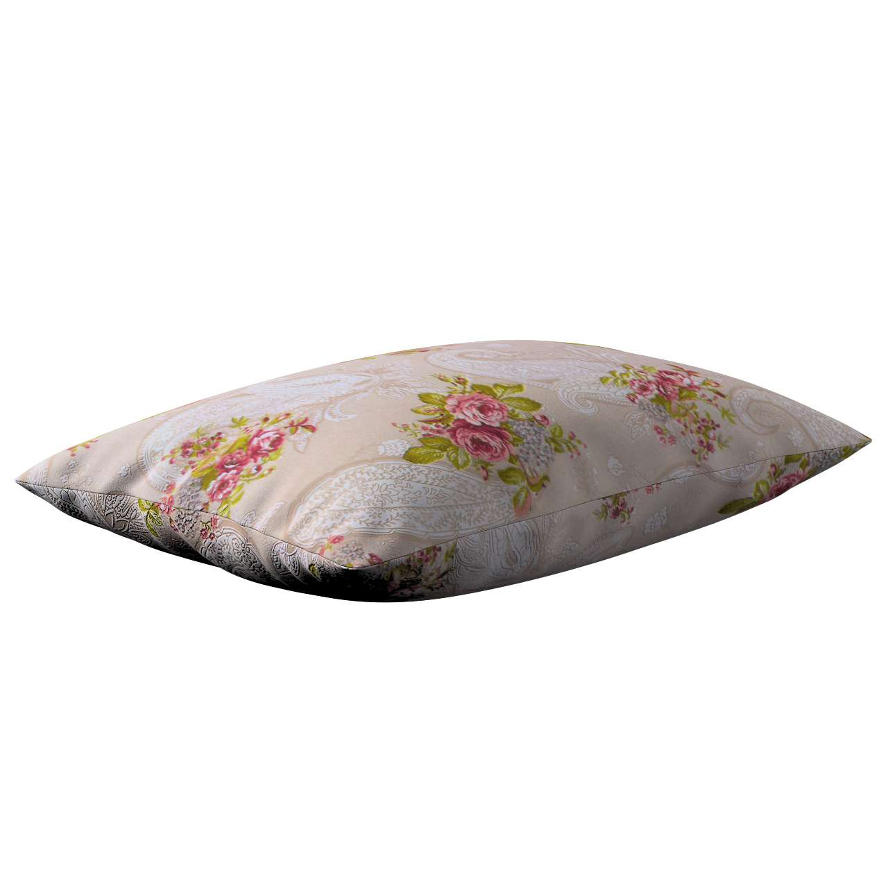 Poszewka Kinga na poduszkę prostokątną w kolekcji Flowers, tkanina: 311-15
