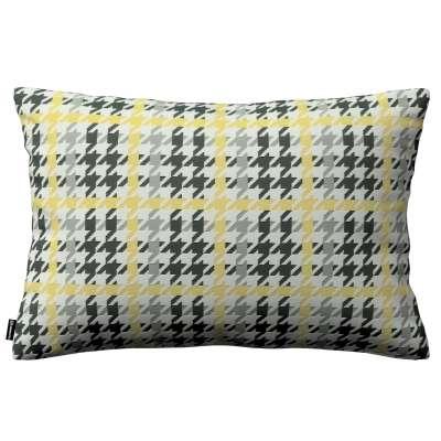 Kinga dekoratyvinės pagalvėlės užvalkalas 60x40cm 137-79 Juoda, pilka, šviesi, geltona Kolekcija NUOLAIDOS