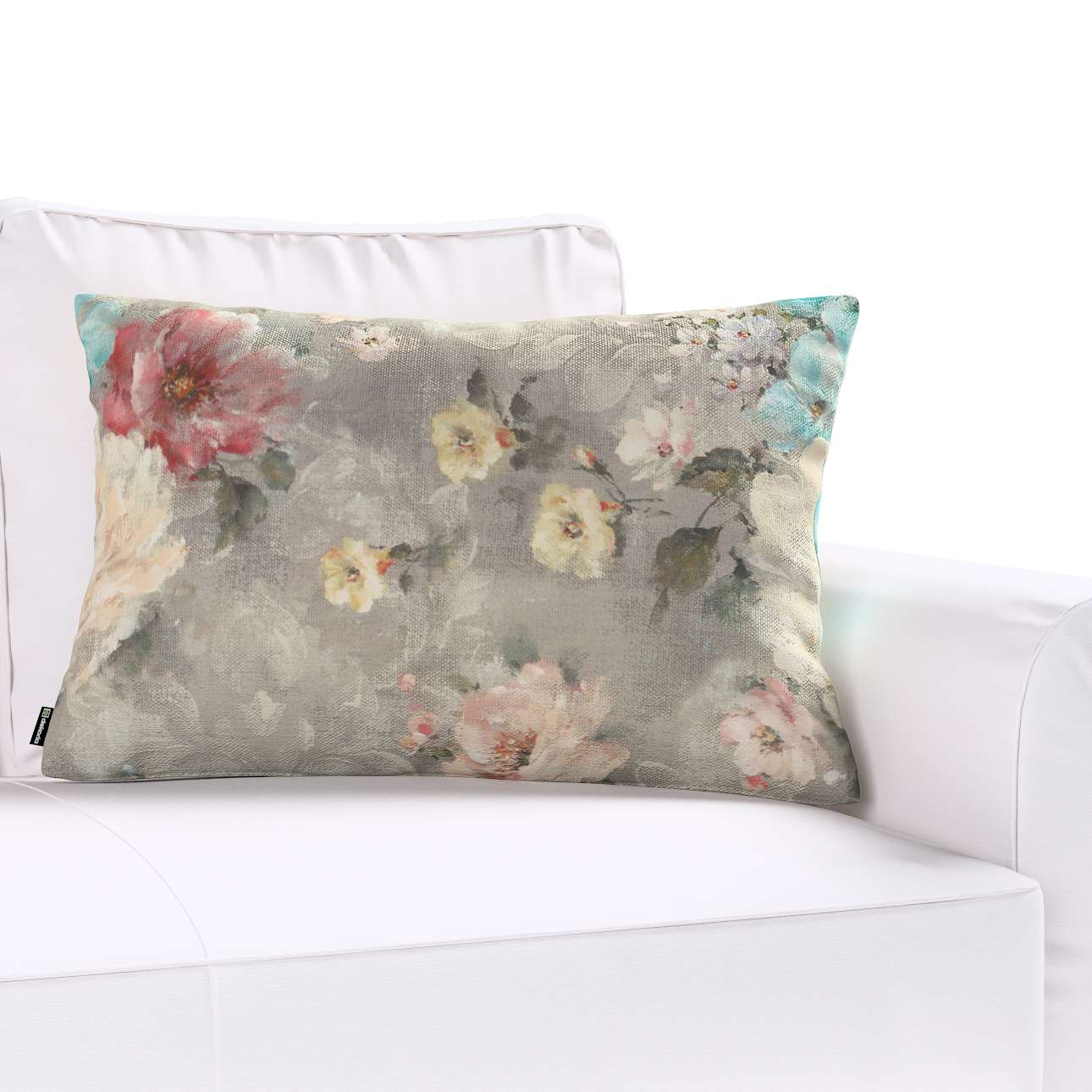 Poszewka Kinga na poduszkę prostokątną 60 x 40 cm w kolekcji Monet, tkanina: 137-81