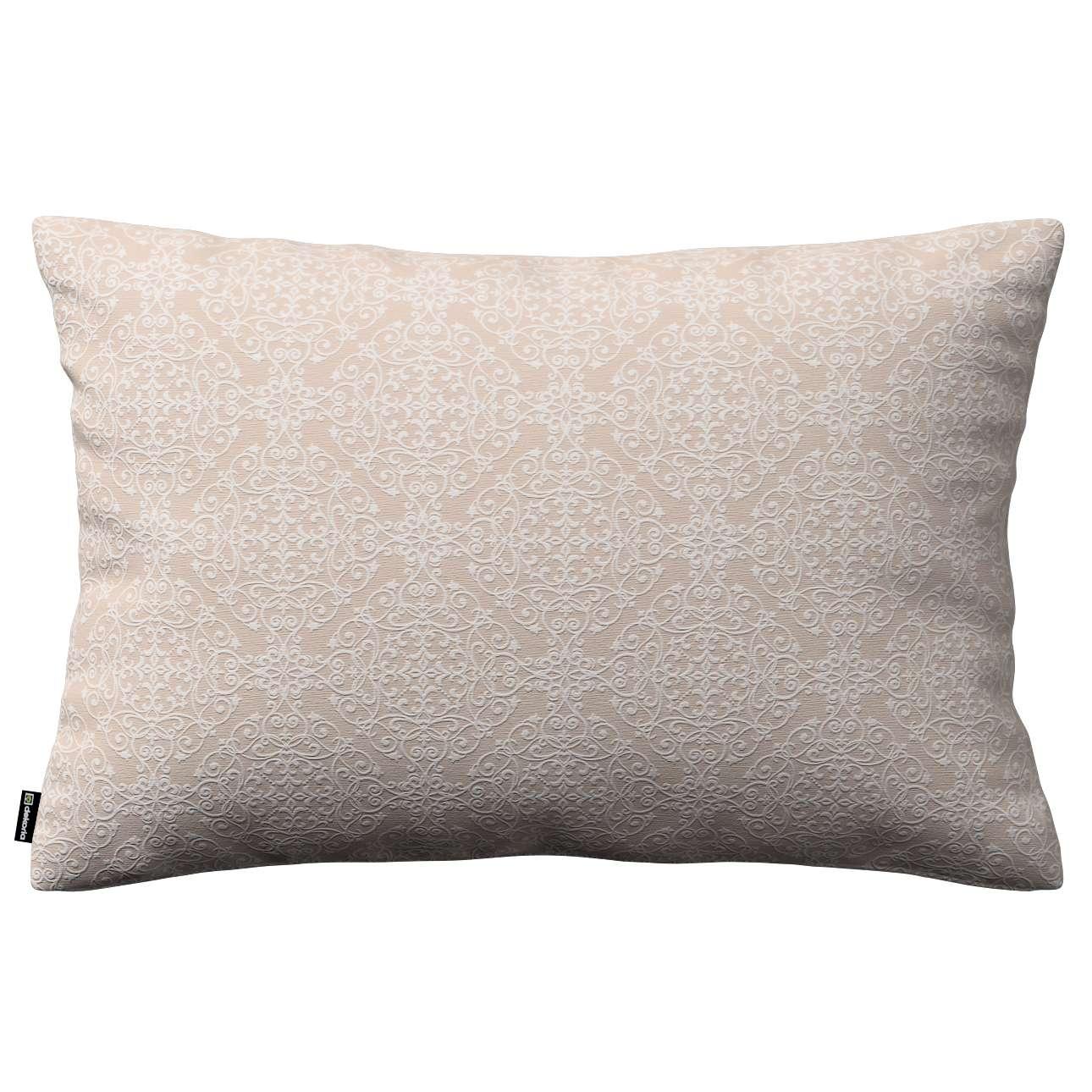 Poszewka Kinga na poduszkę prostokątną 60 x 40 cm w kolekcji Flowers, tkanina: 140-39