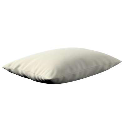 Poszewka Kinga na poduszkę prostokątną 704-10 śmietankowa biel Kolekcja Velvet