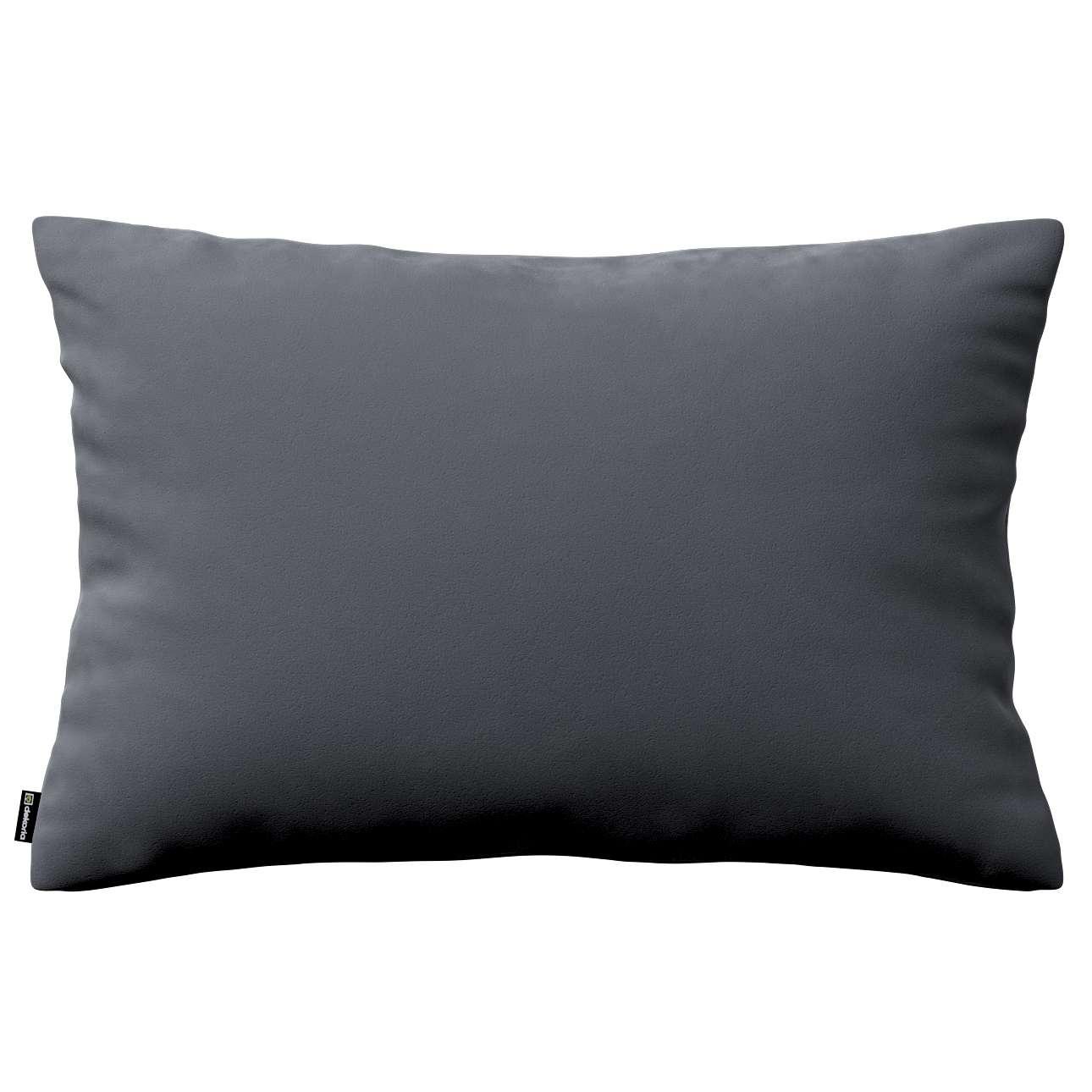 Poszewka Kinga na poduszkę prostokątną w kolekcji Velvet, tkanina: 704-12