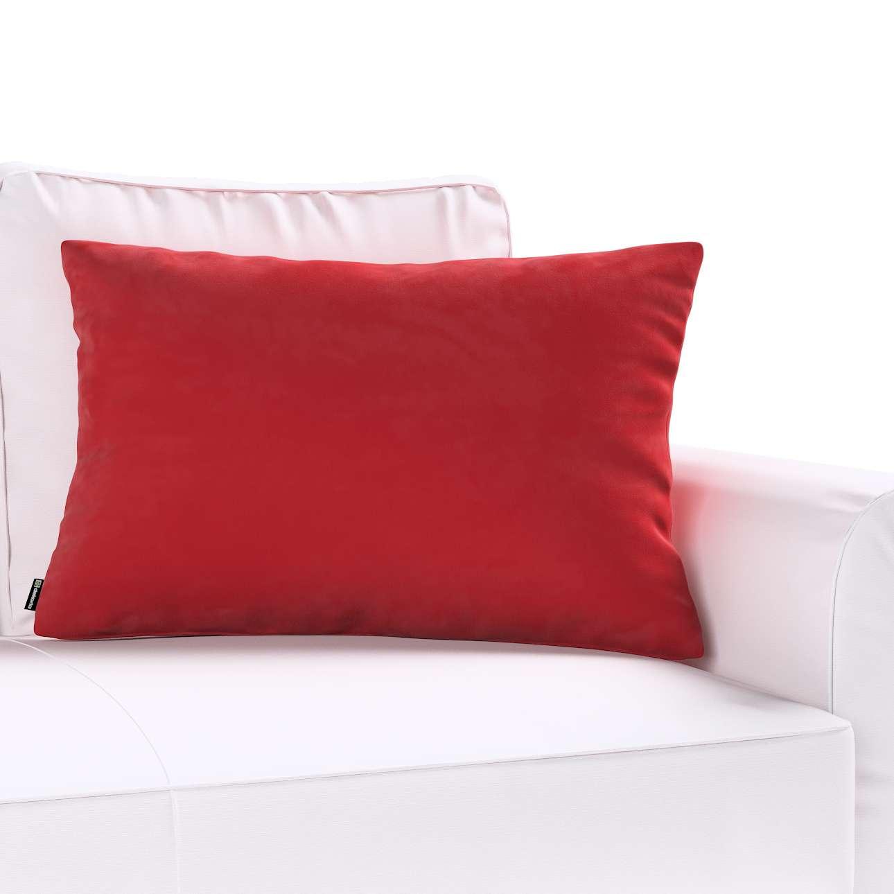 Kinga dekoratyvinės pagalvėlės užvalkalas 60x40cm kolekcijoje Velvet/Aksomas, audinys: 704-15