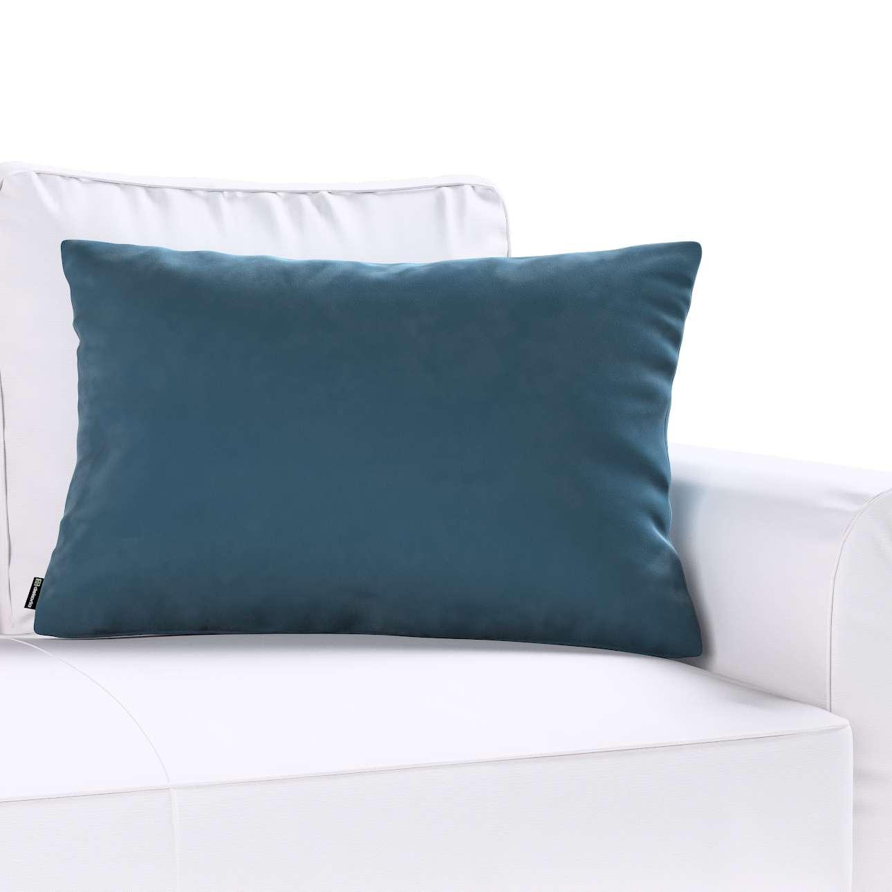 Poszewka Kinga na poduszkę prostokątną w kolekcji Velvet, tkanina: 704-16
