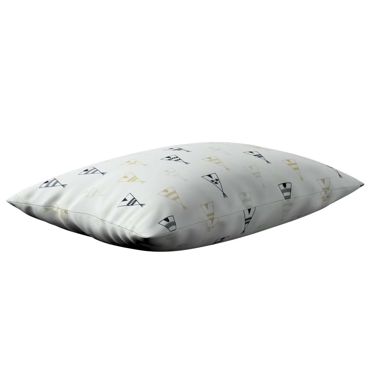 Poszewka Kinga na poduszkę prostokątną w kolekcji Adventure, tkanina: 141-84