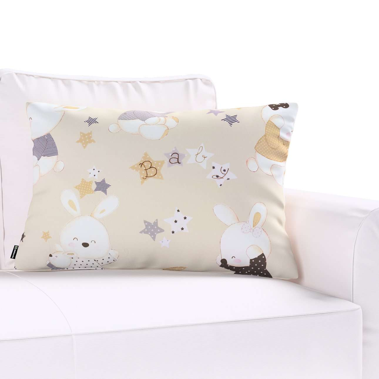 Poszewka Kinga na poduszkę prostokątną w kolekcji Adventure, tkanina: 141-85