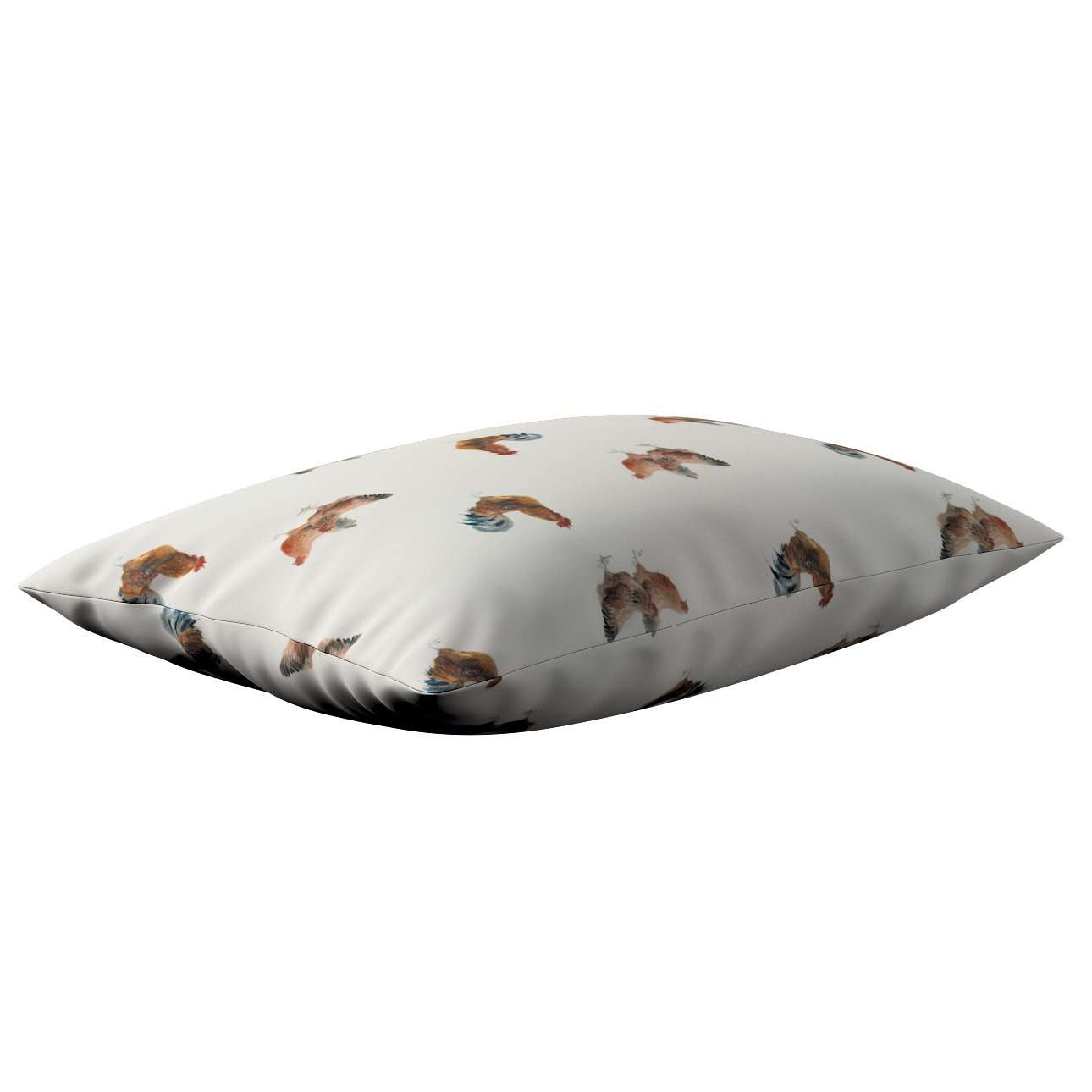 Poszewka Kinga na poduszkę prostokątną w kolekcji Flowers, tkanina: 141-80