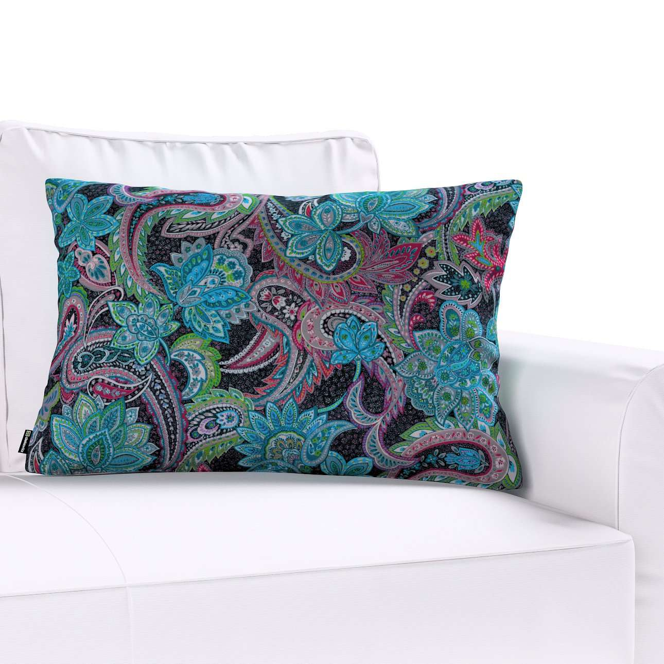 Poszewka Kinga na poduszkę prostokątną w kolekcji Velvet, tkanina: 704-22
