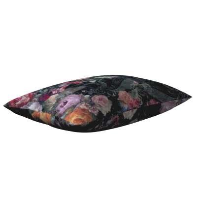 Karin - jednoduchá obliečka, 60x40cm 161-02 farebné kvety na tmavom pozadí Kolekcia Gardenia