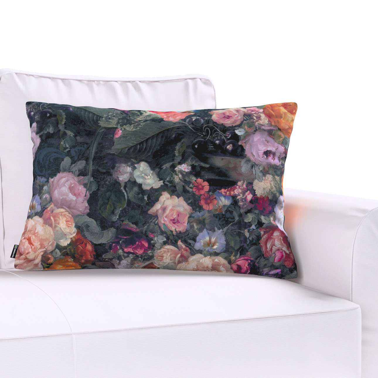 Poszewka Kinga na poduszkę prostokątną w kolekcji Gardenia, tkanina: 161-02