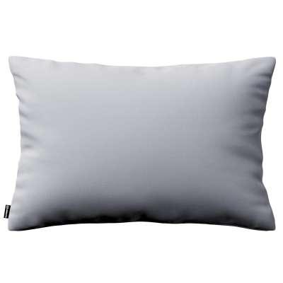 Poszewka Kinga na poduszkę prostokątną 704-24 srebrzysty szary Kolekcja Velvet