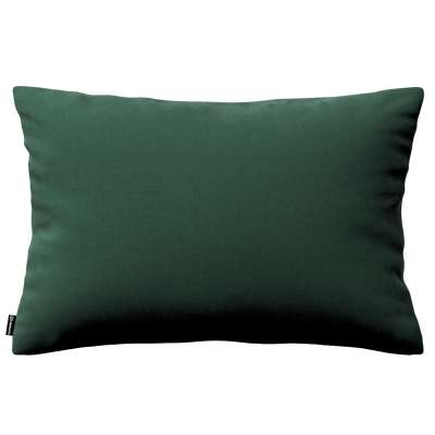 Kinga dekoratyvinės pagalvėlės užvalkalas 60x40cm 704-25 tamsi žalia Kolekcija Velvetas/Aksomas