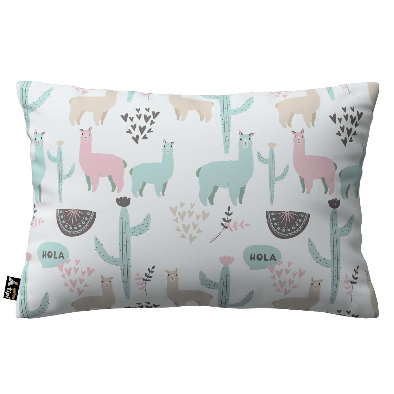 Milly rectangular cushion cover in collection Magic Collection, fabric: 500-01