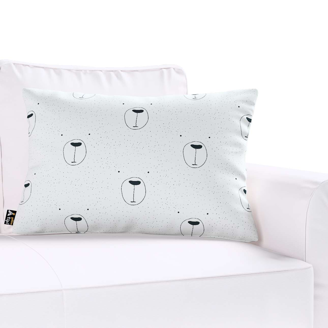 Milly rectangular cushion cover in collection Magic Collection, fabric: 500-06