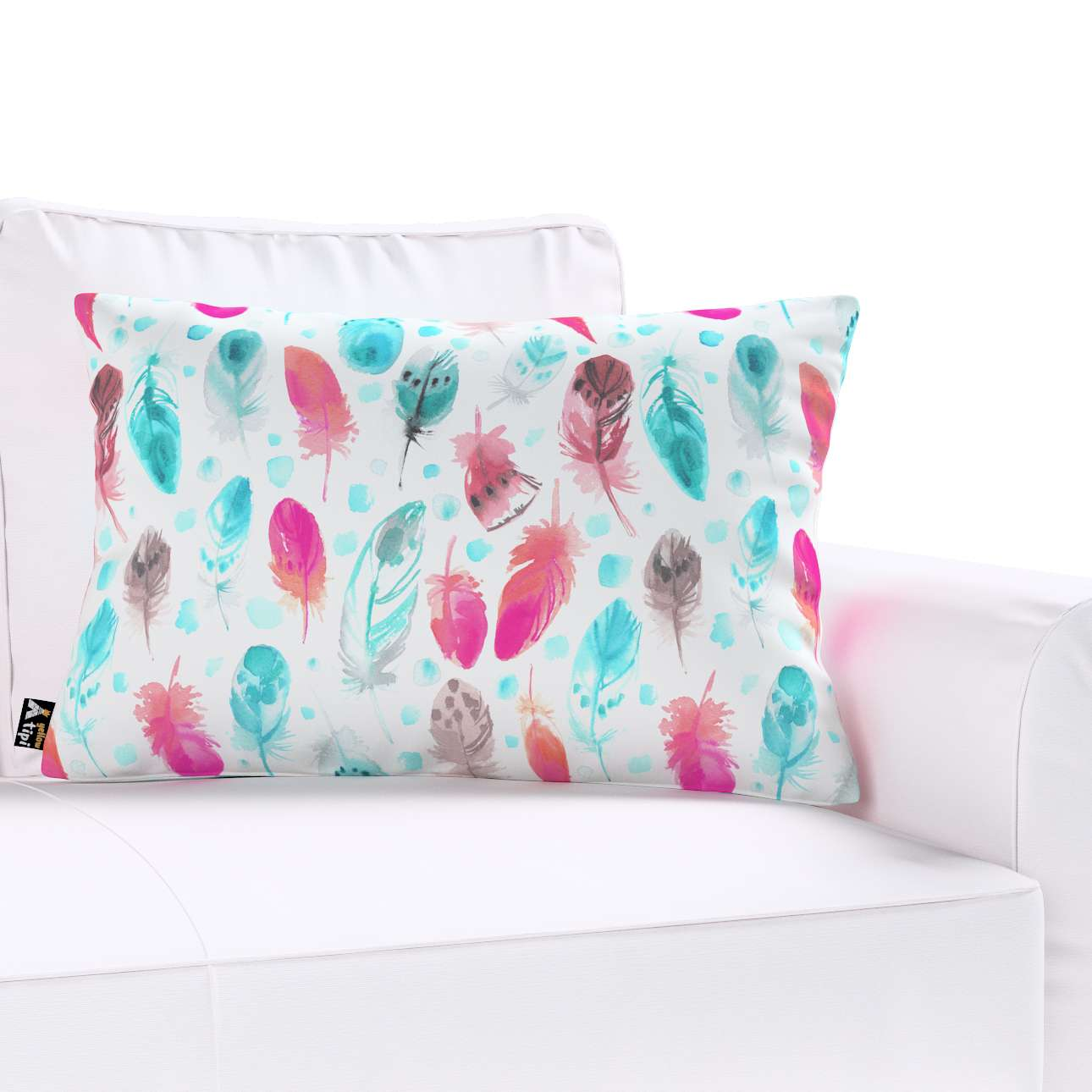 Milly rectangular cushion cover in collection Magic Collection, fabric: 500-17