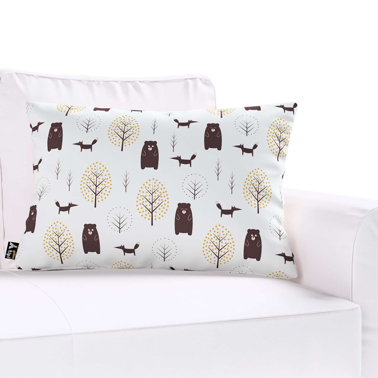 Milly rectangular cushion cover in collection Magic Collection, fabric: 500-19