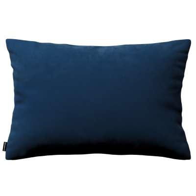 Kinga dekoratyvinės pagalvėlės užvalkalas 60x40cm 704-29 tamsi melsva Kolekcija Velvetas/Aksomas