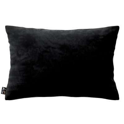 Milly rectangular cushion cover 704-17 black Collection Posh Velvet