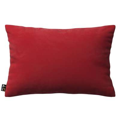 Milly rectangular cushion cover 704-15 cherry red Collection Posh Velvet