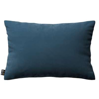 Poszewka Milly prostokątna 704-16 pruski błękit Kolekcja Posh Velvet