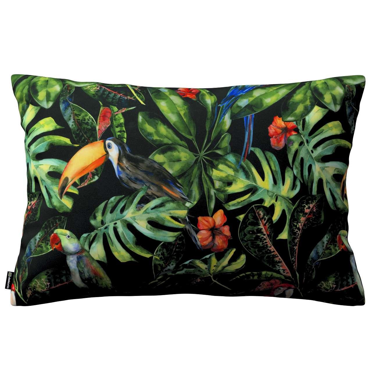 Poszewka Kinga na poduszkę prostokątną w kolekcji Velvet, tkanina: 704-28
