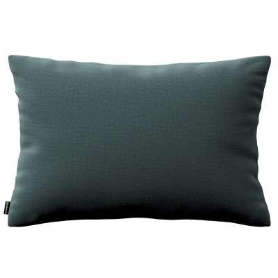 Poszewka Kinga na poduszkę prostokątną 705-36 zgaszony szmaragd - welwet Kolekcja Ingrid