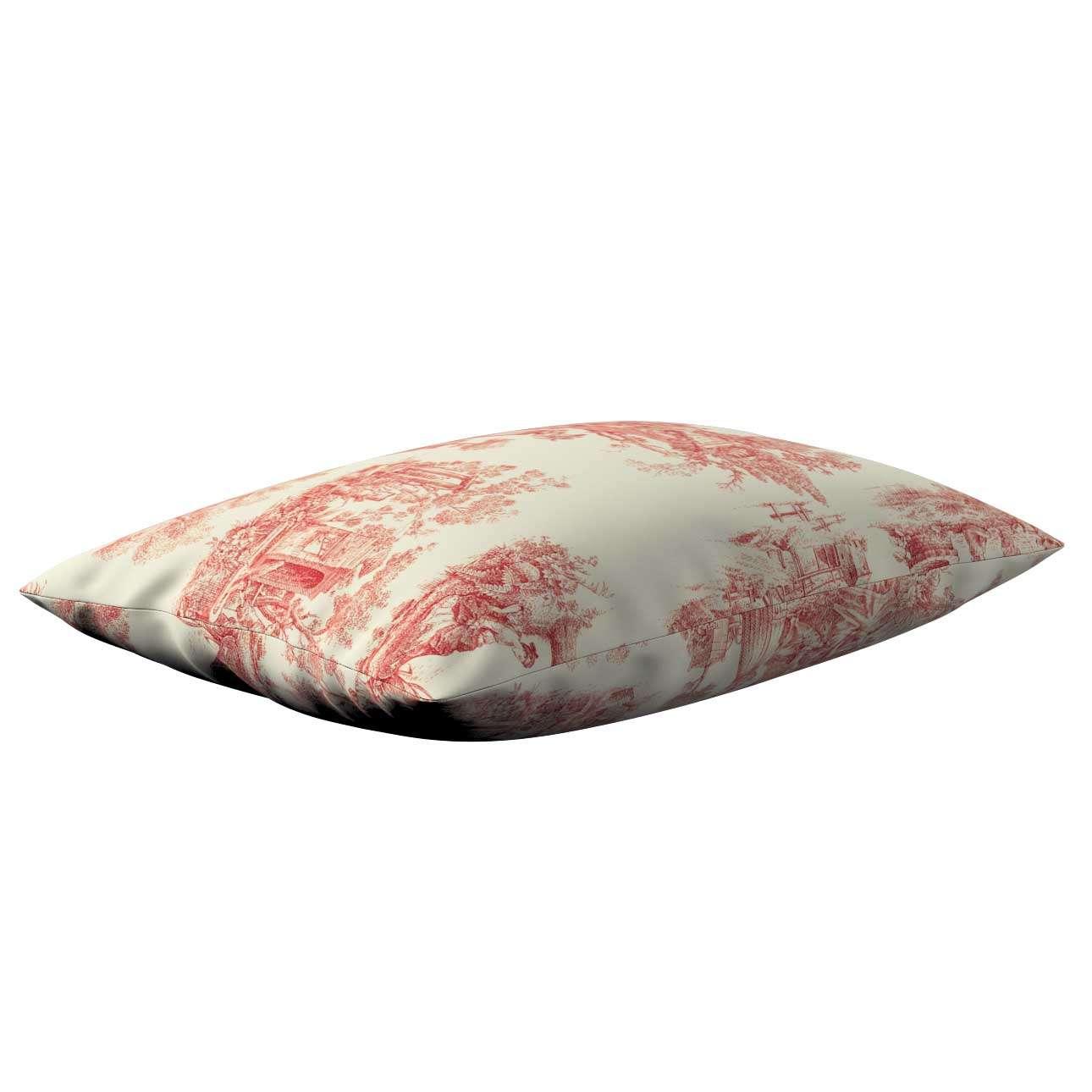 Poszewka Kinga na poduszkę prostokątną 60 x 40 cm w kolekcji Avinon, tkanina: 132-15