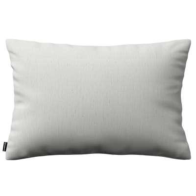 Poszewka Kinga na poduszkę prostokątną 159-06 ciepły biały Kolekcja Linen