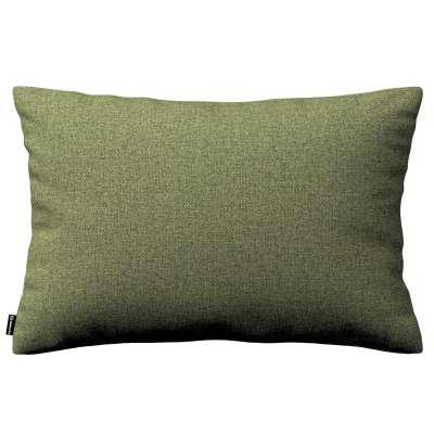 Poszewka Kinga na poduszkę prostokątną 161-22 zielony melanż Kolekcja Madrid