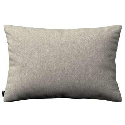 Poszewka Kinga na poduszkę prostokątną 161-23 szaro-beżowy melanż Kolekcja Madrid