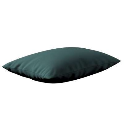 Milly stačiakampės pagalvėlės užvalkalas 159-09 žalias smaragdo Kolekcija Nature -100% linas