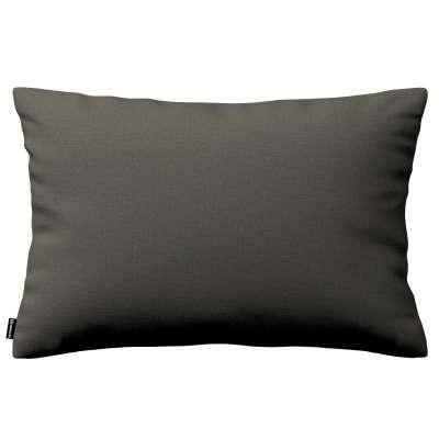 Poszewka Kinga na poduszkę prostokątną 161-55 ciemny szary Kolekcja Living
