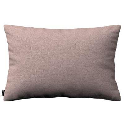 Poszewka Kinga na poduszkę prostokątną 161-88 szaro - różowy melanż Kolekcja Madrid