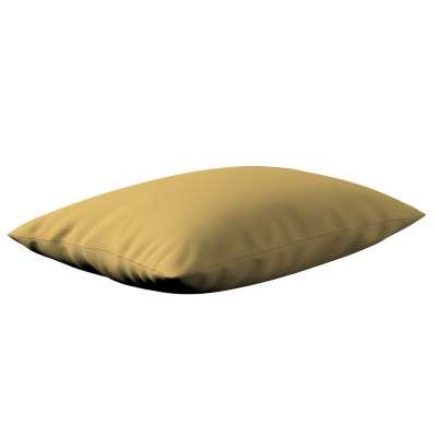 Poszewka Kinga na poduszkę prostokątną 702-41 zgaszony żółty Kolekcja Cotton Panama