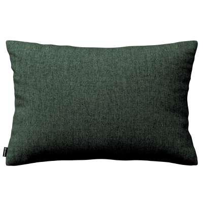 Poszewka Kinga na poduszkę prostokątną 704-81 leśna zieleń szenil Kolekcja City