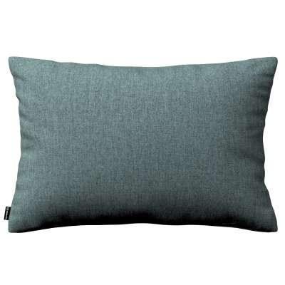 Poszewka Kinga na poduszkę prostokątną 704-85 szary błekit szenil Kolekcja City
