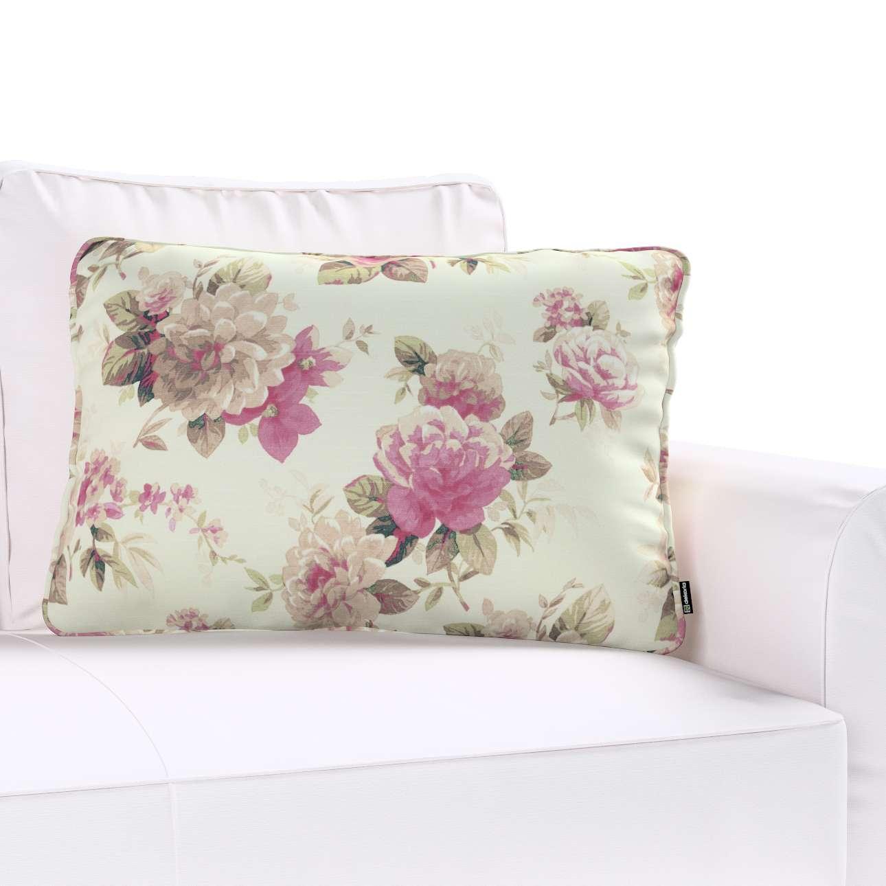 Gabi dekoratyvinės pagavėlės užvalkalas su specialia siūle 60x40cm 60 x 40 cm kolekcijoje Mirella, audinys: 141-07
