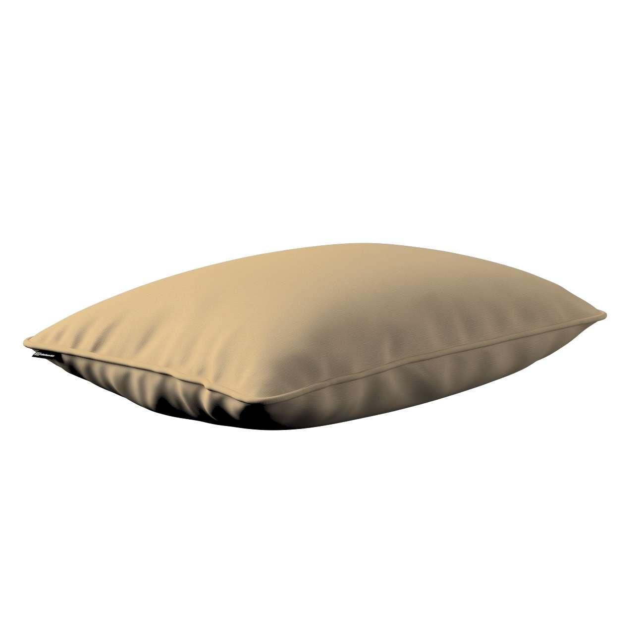 Kissenhülle Gabi mit Paspel 60x40cm 60 x 40 cm von der Kollektion Cotton Panama, Stoff: 702-01