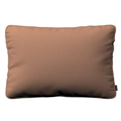 Pudebetræk<br/>Gabi med kant 60x40cm 702-02 Mellembrun Kollektion Cotton Panama