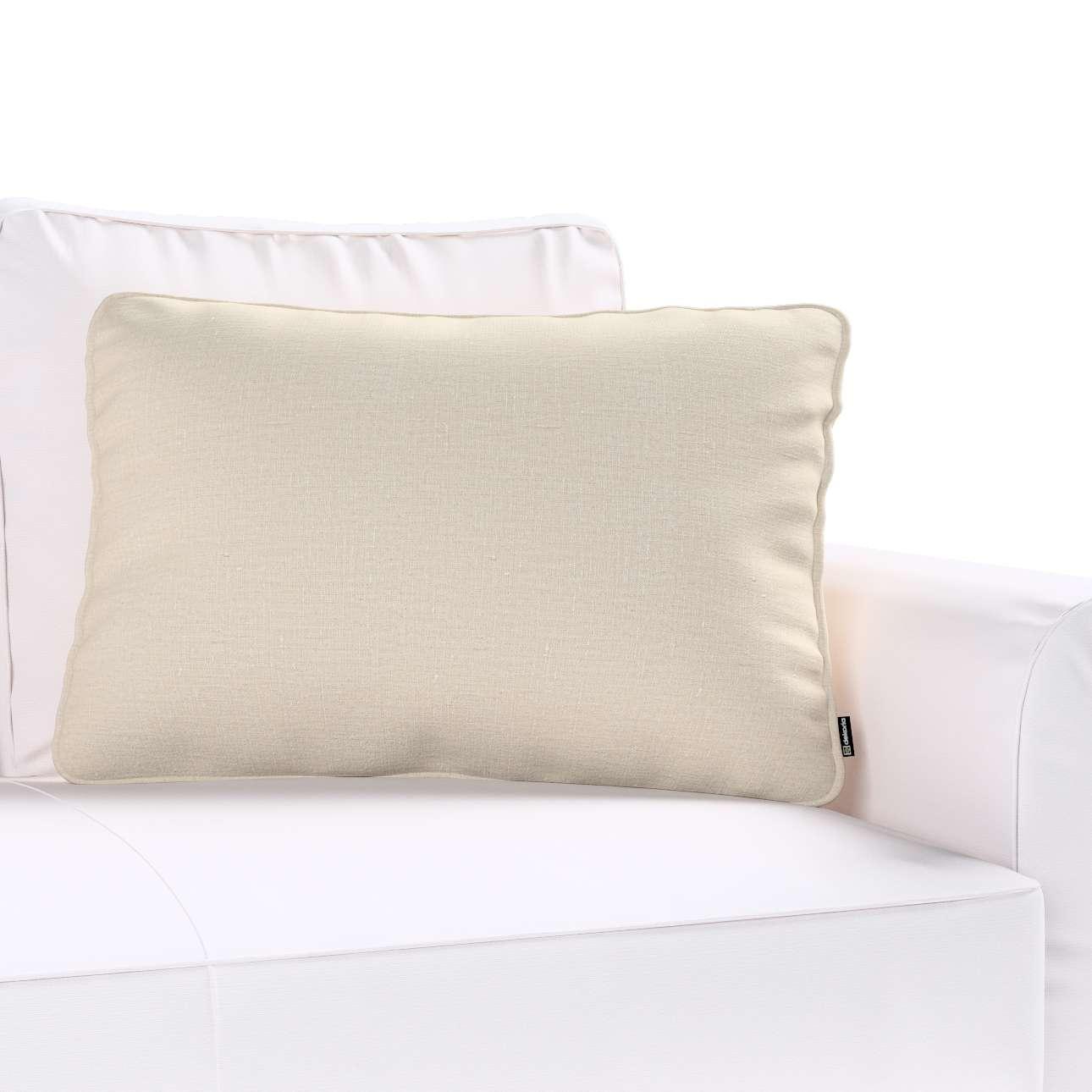 Poszewka Gabi na poduszkę prostokątna w kolekcji Linen, tkanina: 392-05