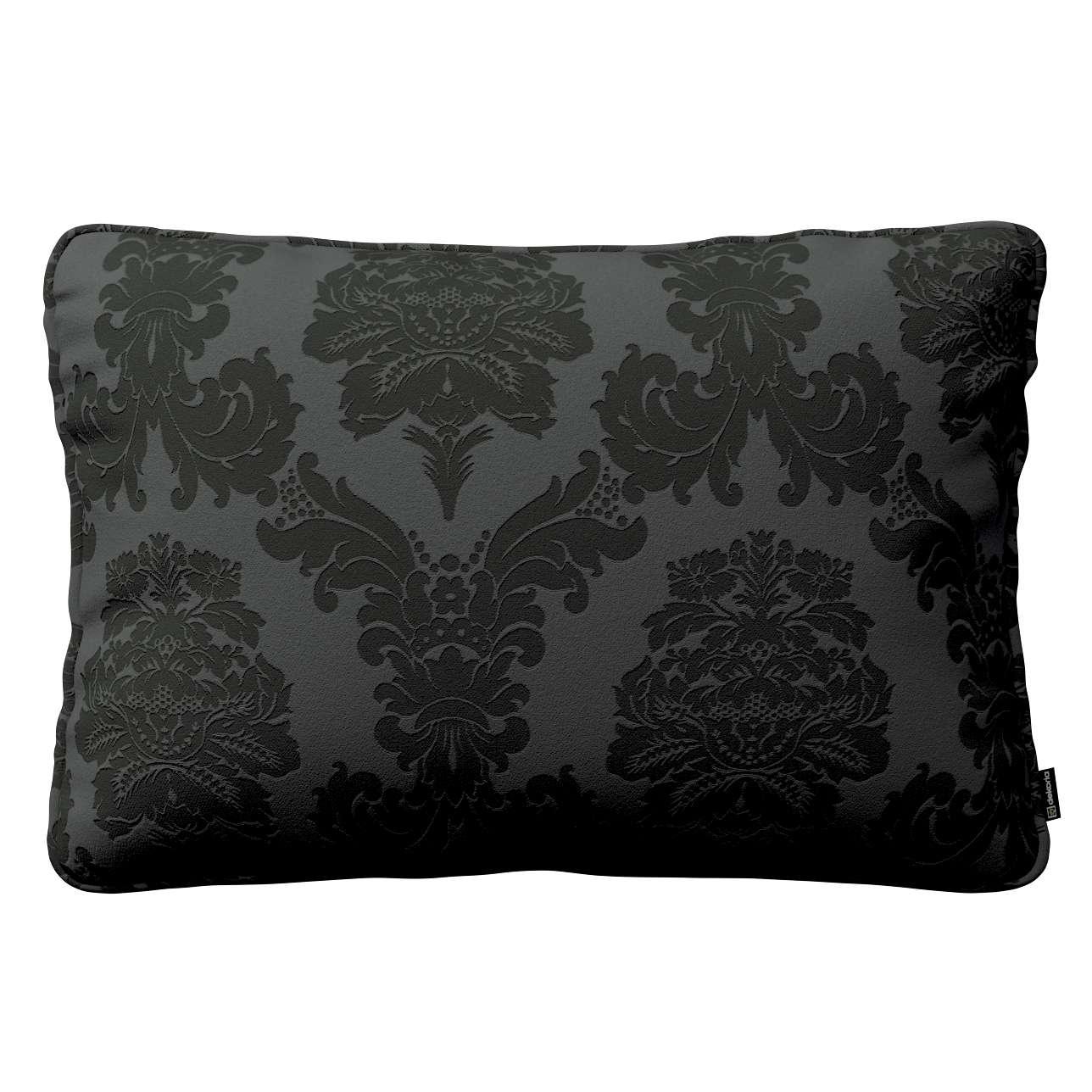 Gabi dekoratyvinės pagavėlės užvalkalas su specialia siūle 60x40cm 60 x 40 cm kolekcijoje Damasco, audinys: 613-32