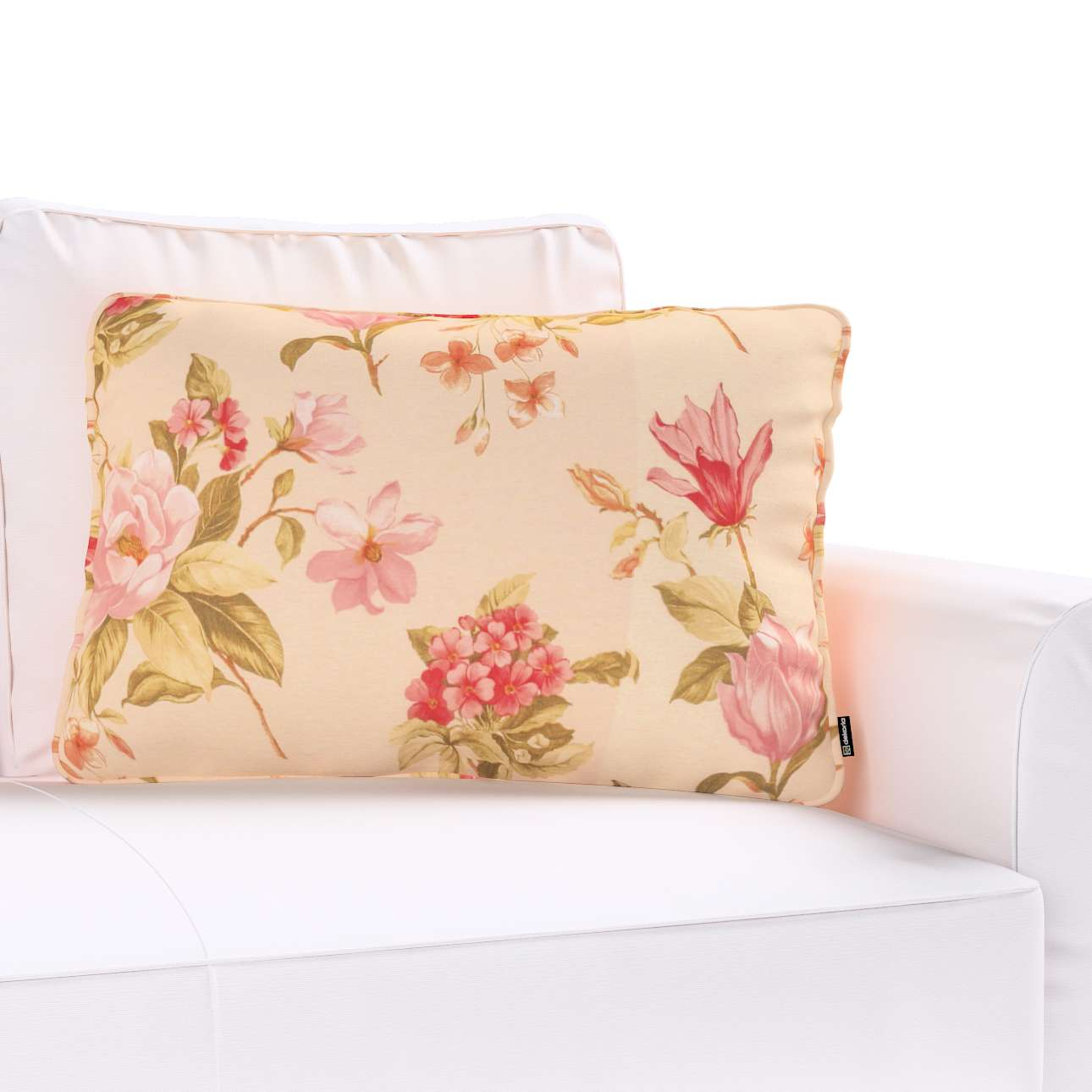 Poszewka Gabi na poduszkę prostokątna 60x40cm w kolekcji Londres, tkanina: 123-05